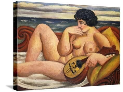 The Sonata-Mark Gertler-Stretched Canvas Print