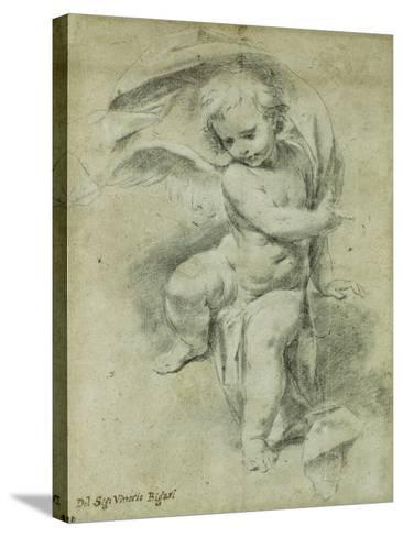 An Angel-Vittorio Maria Bigari-Stretched Canvas Print