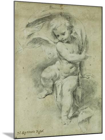 An Angel-Vittorio Maria Bigari-Mounted Giclee Print