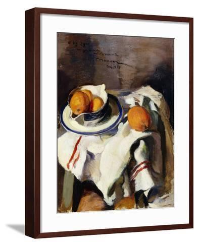 A Still Life with Oranges-Masriera F.-Framed Art Print