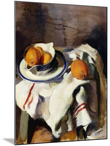 A Still Life with Oranges-Masriera F.-Mounted Giclee Print
