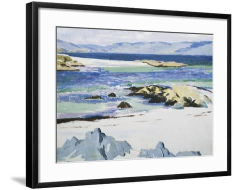 The Sound of Mull from Iona-Francis Campbell Cadell-Framed Art Print
