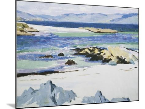 The Sound of Mull from Iona-Francis Campbell Cadell-Mounted Giclee Print