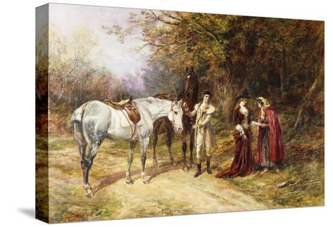 The Fortune Teller-Heywood Hardy-Stretched Canvas Print