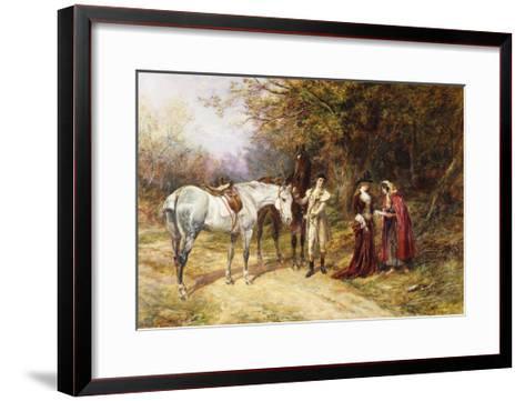 The Fortune Teller-Heywood Hardy-Framed Art Print