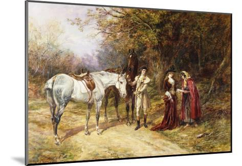The Fortune Teller-Heywood Hardy-Mounted Giclee Print