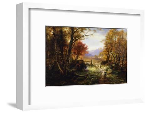 Changing Pastures, Evening-Joseph Farquharson-Framed Art Print