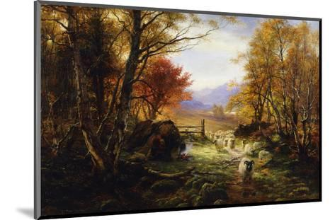 Changing Pastures, Evening-Joseph Farquharson-Mounted Giclee Print