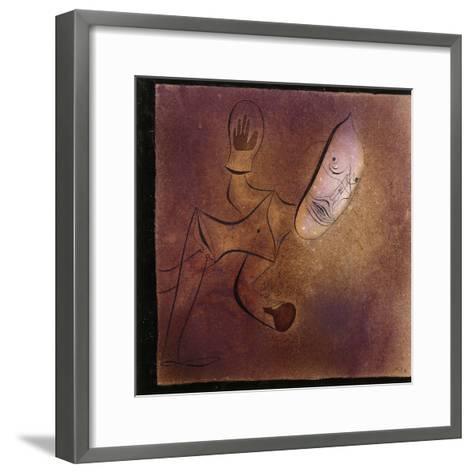 Brutal Pierrot-Paul Klee-Framed Art Print