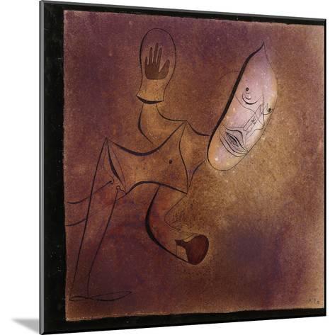 Brutal Pierrot-Paul Klee-Mounted Giclee Print