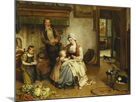 A Family in an Interior-Johannes Petrus Horstok-Mounted Giclee Print