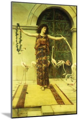Dance of the Flamingos-John Reinhard Weguelin-Mounted Giclee Print