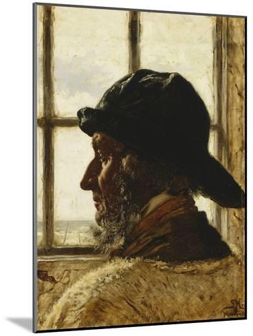The Old Fisherman-Peder Severin Kr?yer-Mounted Giclee Print