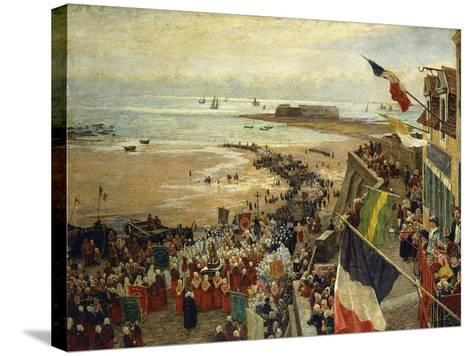 The Blessing of the Sea-William Morison Wyllie-Stretched Canvas Print