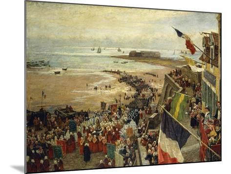 The Blessing of the Sea-William Morison Wyllie-Mounted Giclee Print