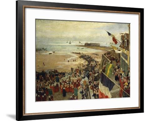 The Blessing of the Sea-William Morison Wyllie-Framed Art Print