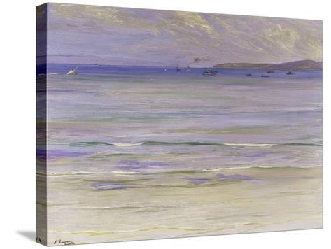 Tangier Bay-Sir John Lavery-Stretched Canvas Print