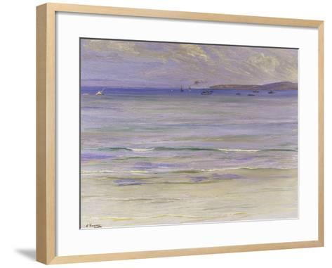 Tangier Bay-Sir John Lavery-Framed Art Print