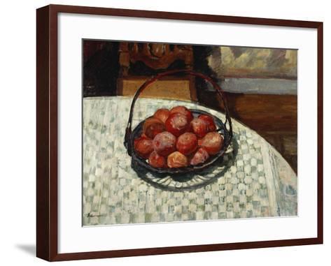 The Basket of Fruit-Henri Lebasque-Framed Art Print