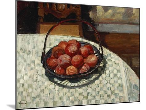 The Basket of Fruit-Henri Lebasque-Mounted Giclee Print