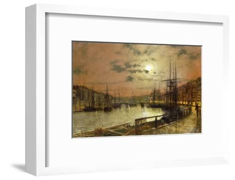 Whitby-John Atkinson Grimshaw-Framed Art Print