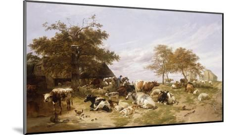 A Dairy Farm on the Marshes, East Kent-Thomas Sidney		 Cooper-Mounted Giclee Print