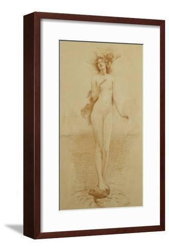 A Study for - The Birth of Love-Solomon Joseph		 Solomon-Framed Art Print