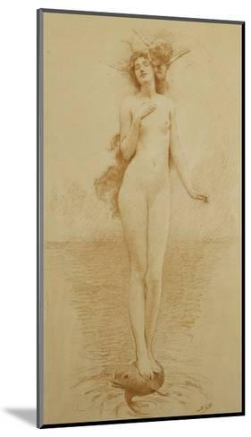A Study for - The Birth of Love-Solomon Joseph		 Solomon-Mounted Giclee Print