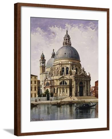 Santa Maria della Salute, Venice-Alberto Prosdocimi-Framed Art Print