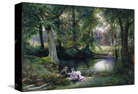The Art Lesson-Wilhelm Trautschold-Stretched Canvas Print