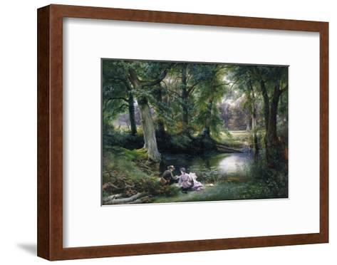 The Art Lesson-Wilhelm Trautschold-Framed Art Print