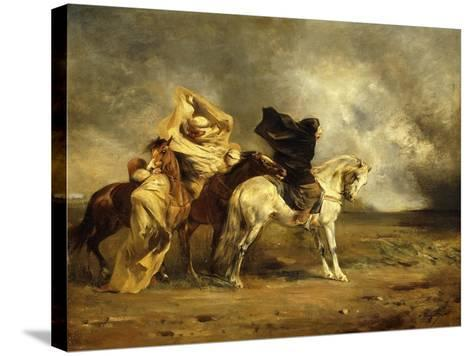 The Simoom-Eugene Fromentin-Stretched Canvas Print
