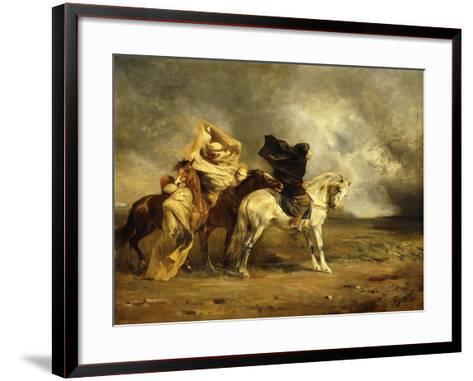 The Simoom-Eugene Fromentin-Framed Art Print