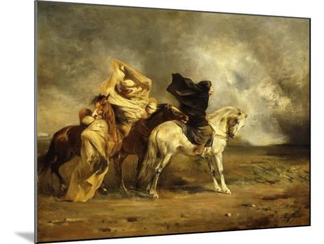 The Simoom-Eugene Fromentin-Mounted Giclee Print