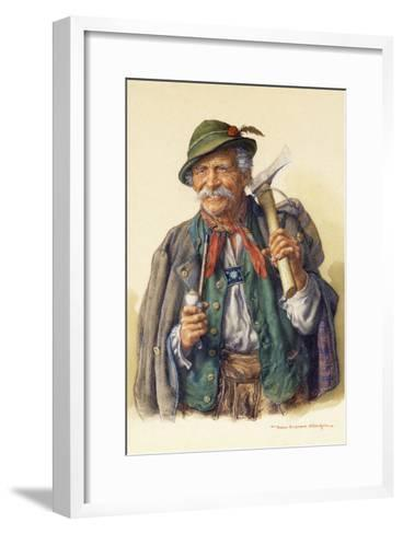 Woodcutters, Mountaineers and Hunters-Peter Kraemer-Framed Art Print