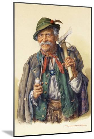 Woodcutters, Mountaineers and Hunters-Peter Kraemer-Mounted Giclee Print