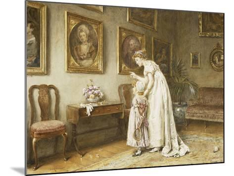 A Little Family History-George Goodwin Kilburne-Mounted Giclee Print