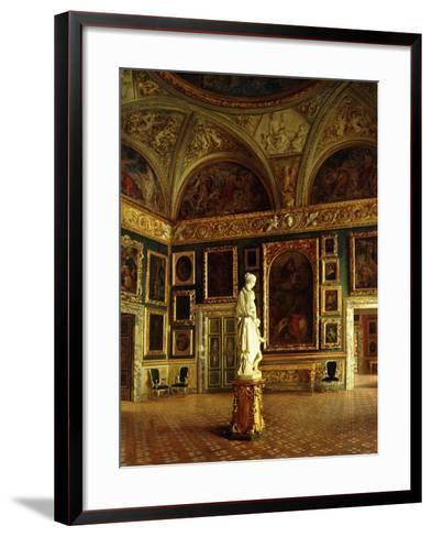 A room in the Pitti Palace-Costa Oreste-Framed Art Print