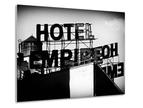 Architecture and Buildings, Rooftop, Hotel Empire, Upper West Side of Manhattan, Broadway, New York-Philippe Hugonnard-Metal Print