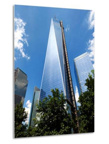Architecture and Buildings, the One World Trade Center (1Wtc), Manhattan, New York, US, USA-Philippe Hugonnard-Metal Print