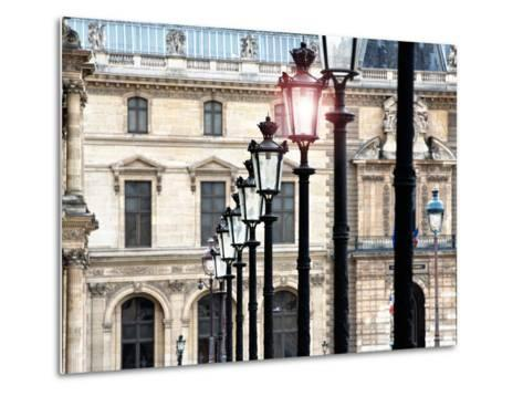 The Louvre Museum, Paris, France-Philippe Hugonnard-Metal Print