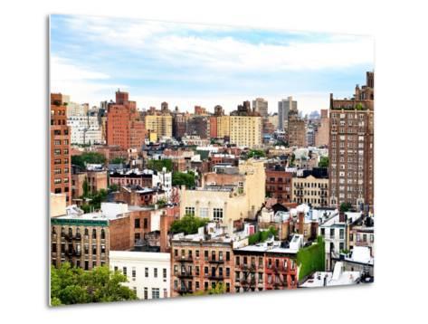 Landscape Buildings of Chelsea, Meatpacking District, Manhattan, New York-Philippe Hugonnard-Metal Print