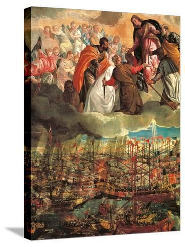 Allegory of the Battle of Lepanto-Veronese-Stretched Canvas Print