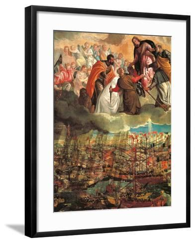 Allegory of the Battle of Lepanto-Veronese-Framed Art Print