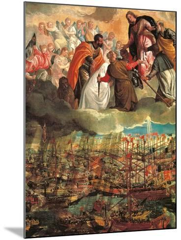 Allegory of the Battle of Lepanto-Veronese-Mounted Giclee Print
