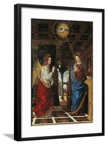 Annunciation- Bergognone-Framed Art Print