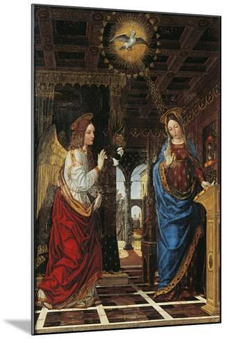 Annunciation- Bergognone-Mounted Giclee Print