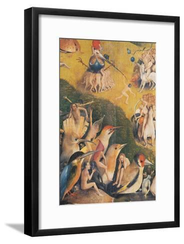The Garden of Earthly Delights-Hieronymus Bosch-Framed Art Print