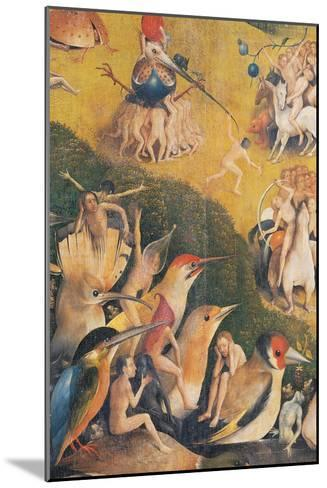 The Garden of Earthly Delights-Hieronymus Bosch-Mounted Giclee Print
