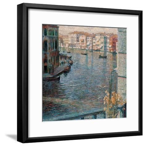The Grand Canal in Venice-Boccioni Umberto-Framed Art Print